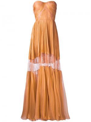 Платье Celia Maria Lucia Hohan. Цвет: жёлтый и оранжевый