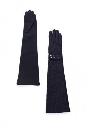 Перчатки Pur. Цвет: синий