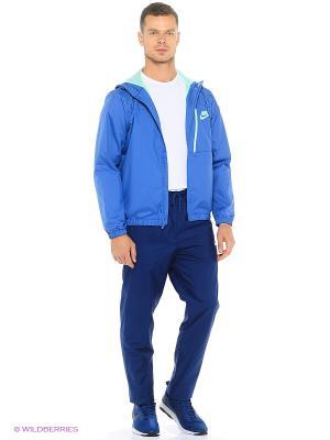 Спортивный костюм M NSW TRK SUIT WVN WINGER Nike. Цвет: синий