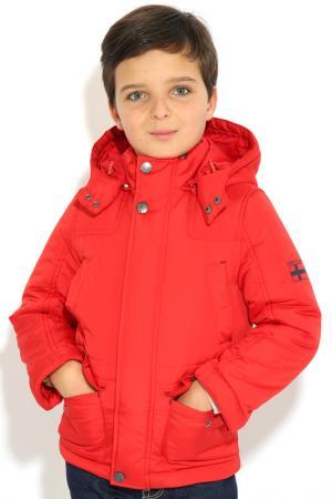 Куртка FINN FLARE KIDS. Цвет: 317 strawberry