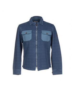 Куртка COOPERATIVA PESCATORI POSILLIPO. Цвет: пастельно-синий