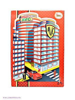 Игровой набор Парковка  AVC. Цвет: красный (осн.)