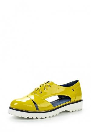Ботинки Betsy. Цвет: желтый