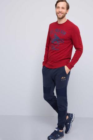 Свитшот U.S. Polo Assn.. Цвет: kr0227 красный