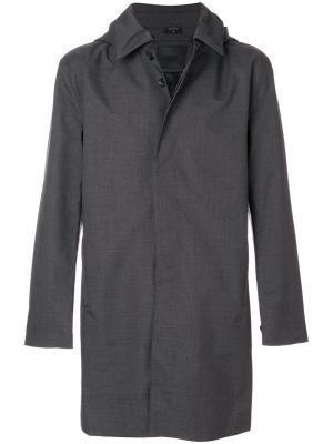Однобортное пальто Norwegian Rain. Цвет: серый