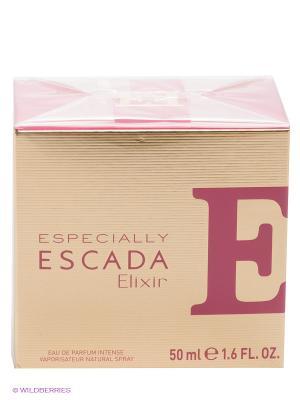 Парфюмерная вода Especially Elixir, 50мл. ESCADA. Цвет: золотистый, розовый