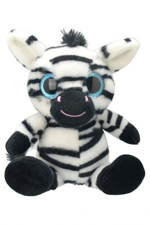 Зебра, 20 см WILD PLANET. Цвет: черный, белый