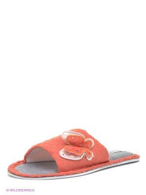 Тапочки FRESH62 De Fonseca. Цвет: оранжевый
