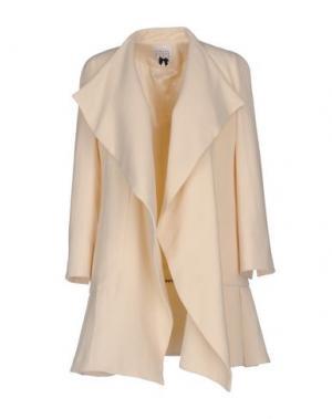 Пальто EDWARD ACHOUR. Цвет: слоновая кость