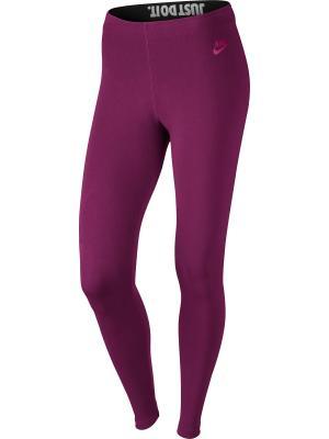 Тайтсы W NSW LEG A SEE JDI Nike. Цвет: фиолетовый, черный