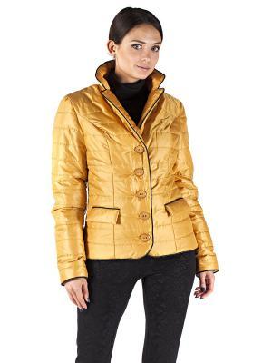 Куртка Sonett. Цвет: желтый