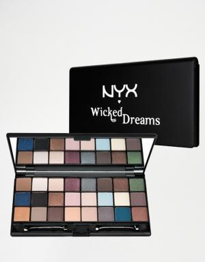 NYX Professional Makeup Набор теней для век Make-Up Wicked Dreams. Цвет: мульти
