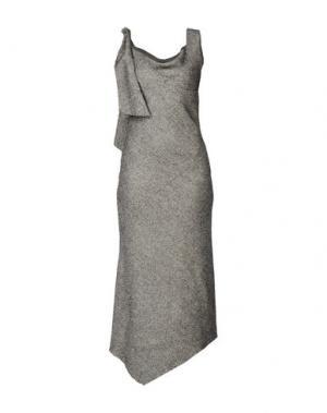 Длинное платье MAISON MARGIELA. Цвет: черный