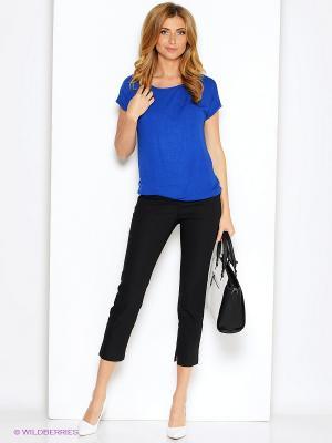 Блузка Анна Чапман. Цвет: синий