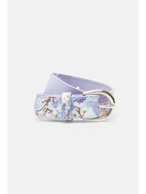 Ремень ACOOLA. Цвет: фиолетовый, серебристый, светло-серый