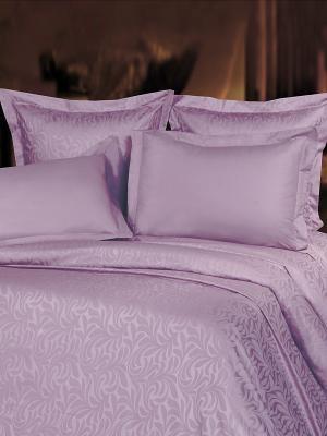 Комплект постельного белья Mona Liza. Цвет: лиловый
