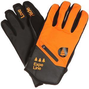 Перчатки сноубордические  Addict Orange Picture Organic. Цвет: оранжевый,черный