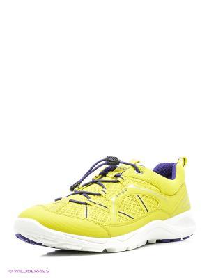 Кроссовки ECCO. Цвет: желтый, фиолетовый