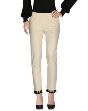 Повседневные брюки ROSE' A POIS. Цвет: слоновая кость