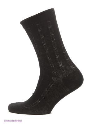 Носки, 3 пары Призер. Цвет: черный