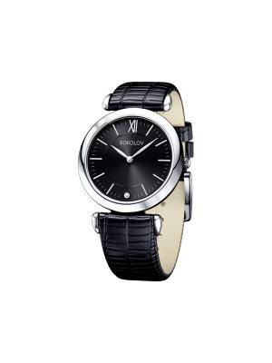 Часы ювелирные коллекция Perfection SOKOLOV. Цвет: черный