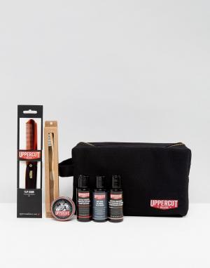 Uppercut Deluxe Подарочный набор в черном несессере. Цвет: бесцветный
