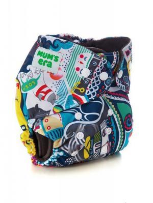 Многоразовый подгузник Mum`s Era. Цвет: бежевый, красный, желтый, белый, черный, синий, зеленый, серый, голубой