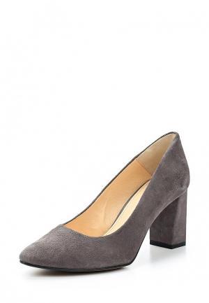 Туфли Wojas. Цвет: серый