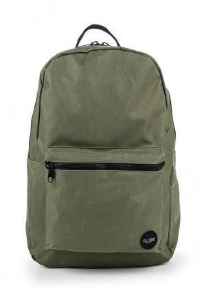 Рюкзак Globe. Цвет: зеленый