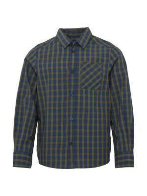 Рубашка TOM TAILOR. Цвет: оливковый