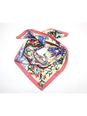 Платок Dolci Capricci. Цвет: лиловый, бежевый