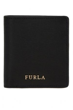 Черный складной кошелек Babylon FURLA. Цвет: черный