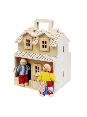 Кукольный домик Винтик и Шпунтик. Цвет: бежевый