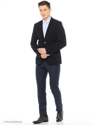 Пиджак Modis. Цвет: черный, темно-синий