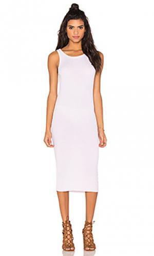 Платье миди provocateur Feel the Piece. Цвет: розовый