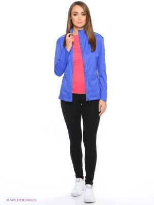 Куртка WINDBLOCK JACKET ASICS. Цвет: синий