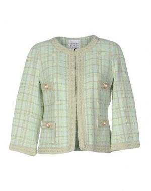 Пиджак EDWARD ACHOUR. Цвет: светло-зеленый