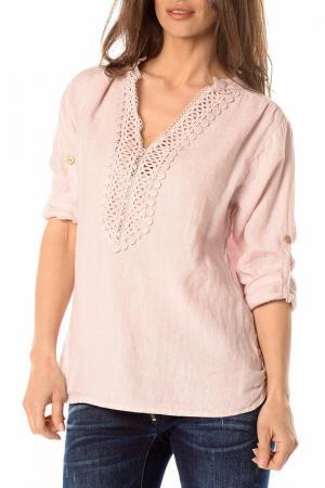 Блуза LA BELLE PARISIENNE. Цвет: розовый