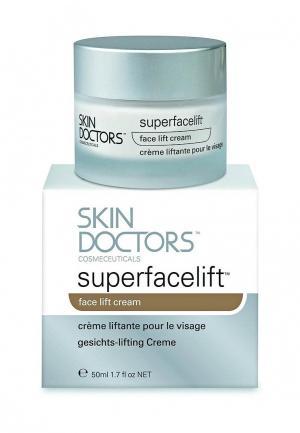 Крем лифтинг для лица SuperfaceLift 50 мл Skin Doctors. Цвет: серый