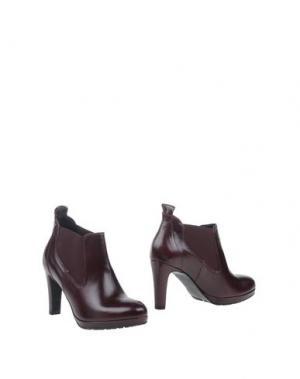 Ботинки EYE. Цвет: баклажанный