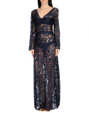 Пляжное платье SAHA. Цвет: темно-синий