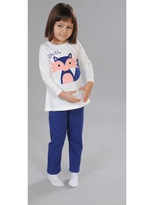 Пижама Милашка Сьюзи. Цвет: синий