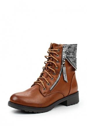 Ботинки Amore. Цвет: коричневый