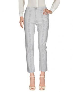 Повседневные брюки LOCAL APPAREL. Цвет: светло-серый