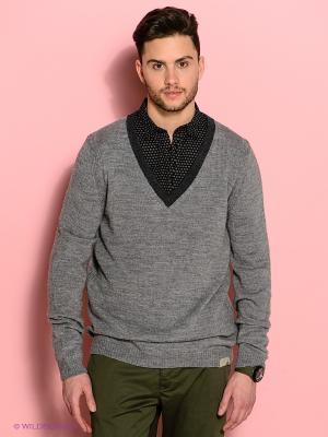 Пуловер Diesel. Цвет: серый меланж