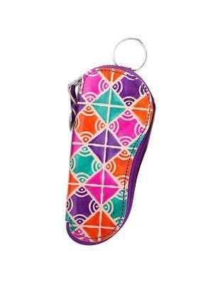 Футляр для ключей ГАНГ. Цвет: фиолетовый