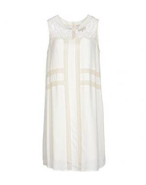 Короткое платье SEA NEW YORK. Цвет: слоновая кость
