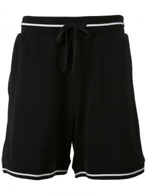 Спортивные шорты Futur. Цвет: чёрный