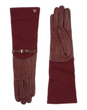 Перчатки DAL DOSSO®. Цвет: красно-коричневый