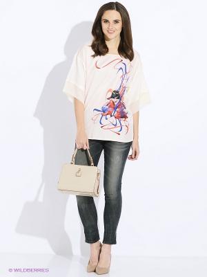 Рубашка Sisley. Цвет: белый